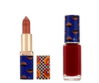 Jewel By lisa L'Oreal Lipstick and nail polish - iloveankara.blogspot.com