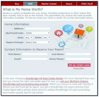 Find A Listing Agent, Instant Search Your Home Value  How Much To Sell Your Home For, Woodbridge VA
