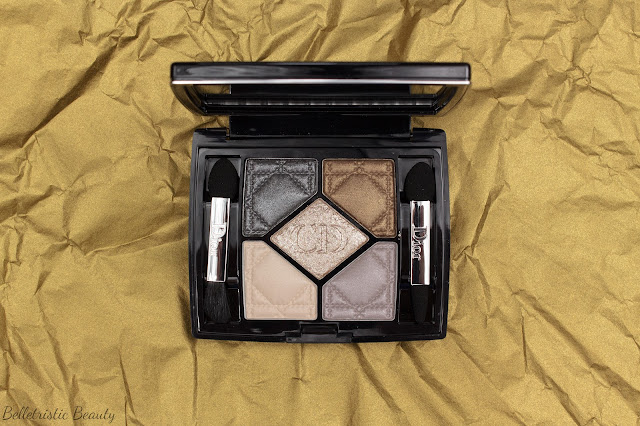 Christian Dior 046 Golden Reflections 5 Couleurs Colors Eyeshadow Palette Golden Shock Holiday Collection 2014