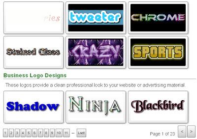 membuat tulisan keren online menggunakan Flamingtextt