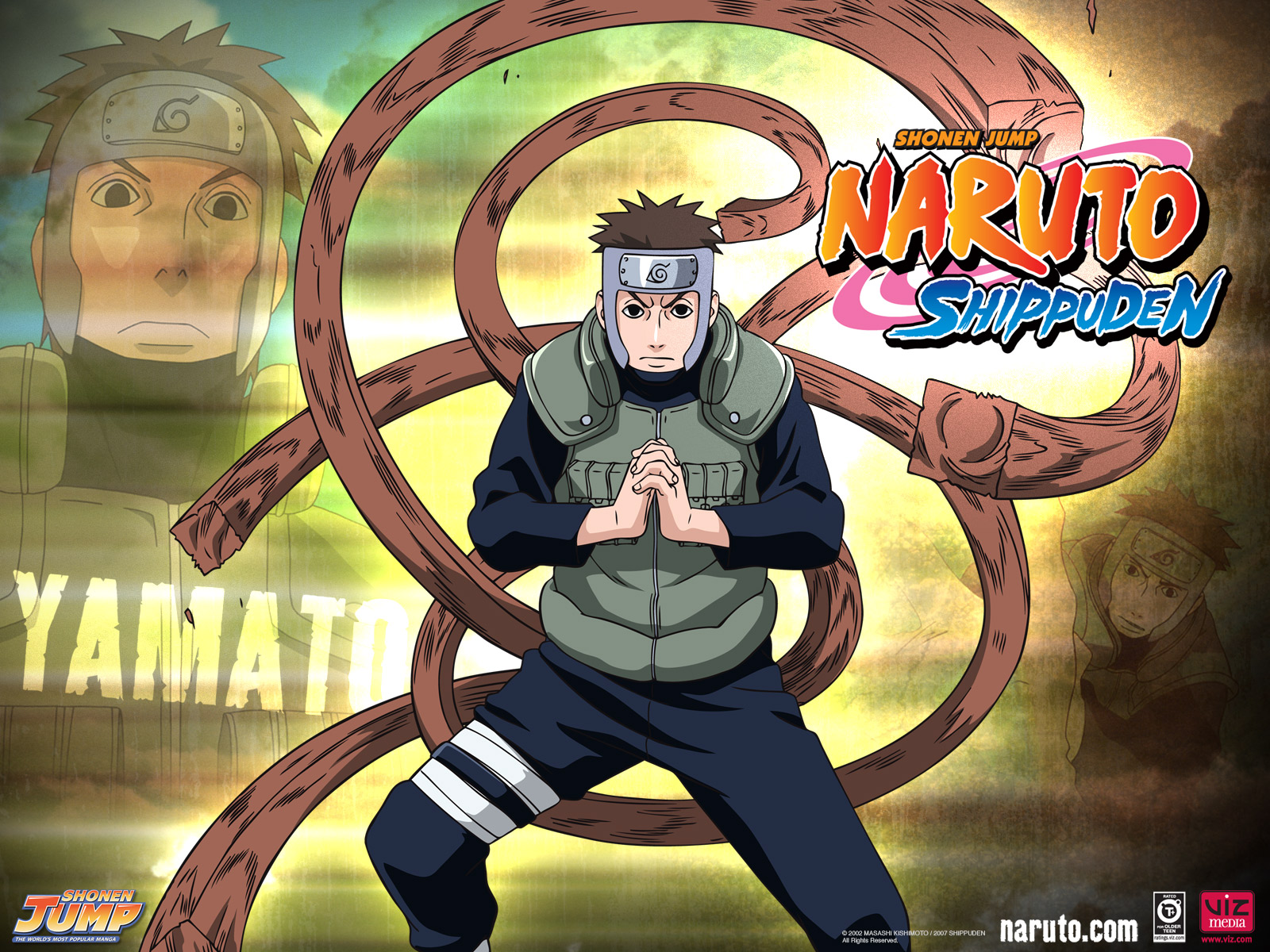 Naruto Shippuden  Yamato,Tenzo Part 3 Wallpaper