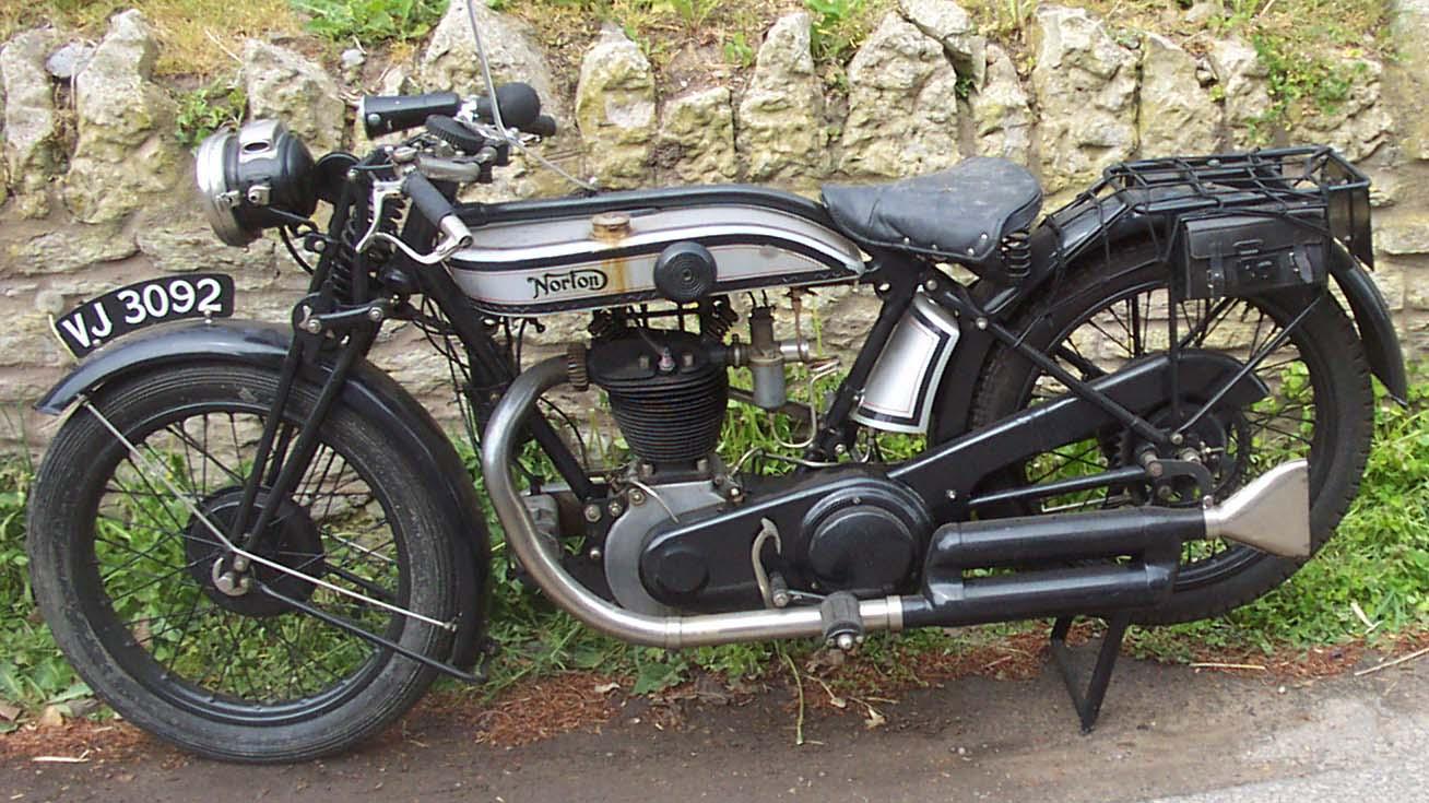Vintage norton motorcycles 1928 model 18 norton sold for The norton