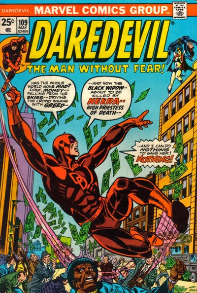 Daredevil #109, Nekra