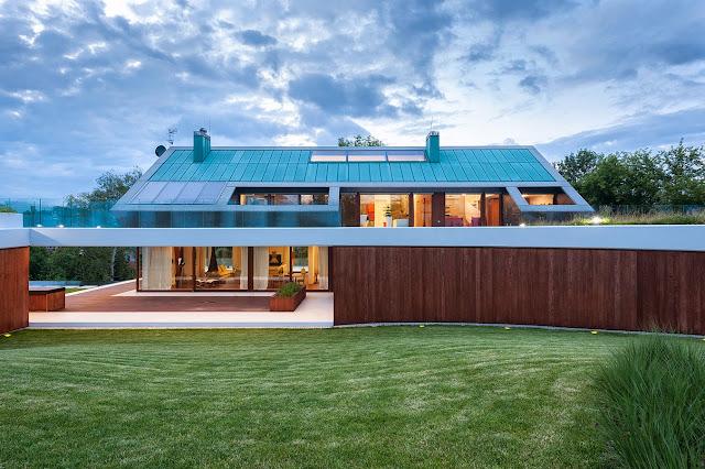 Σπίτι πλεονέκτημα από Mobius Architects