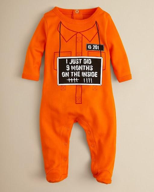 Gefängnis Baby-Strampelanzug