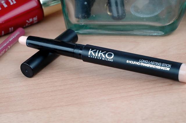 Products I regret buying - Kiko longlasting eyeshadow stick