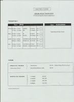 Jadual Form 2 Maths Clinic 2014