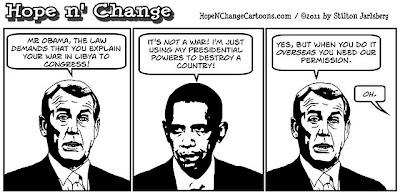 Obama the Transformer Gaddafi%2BDucking