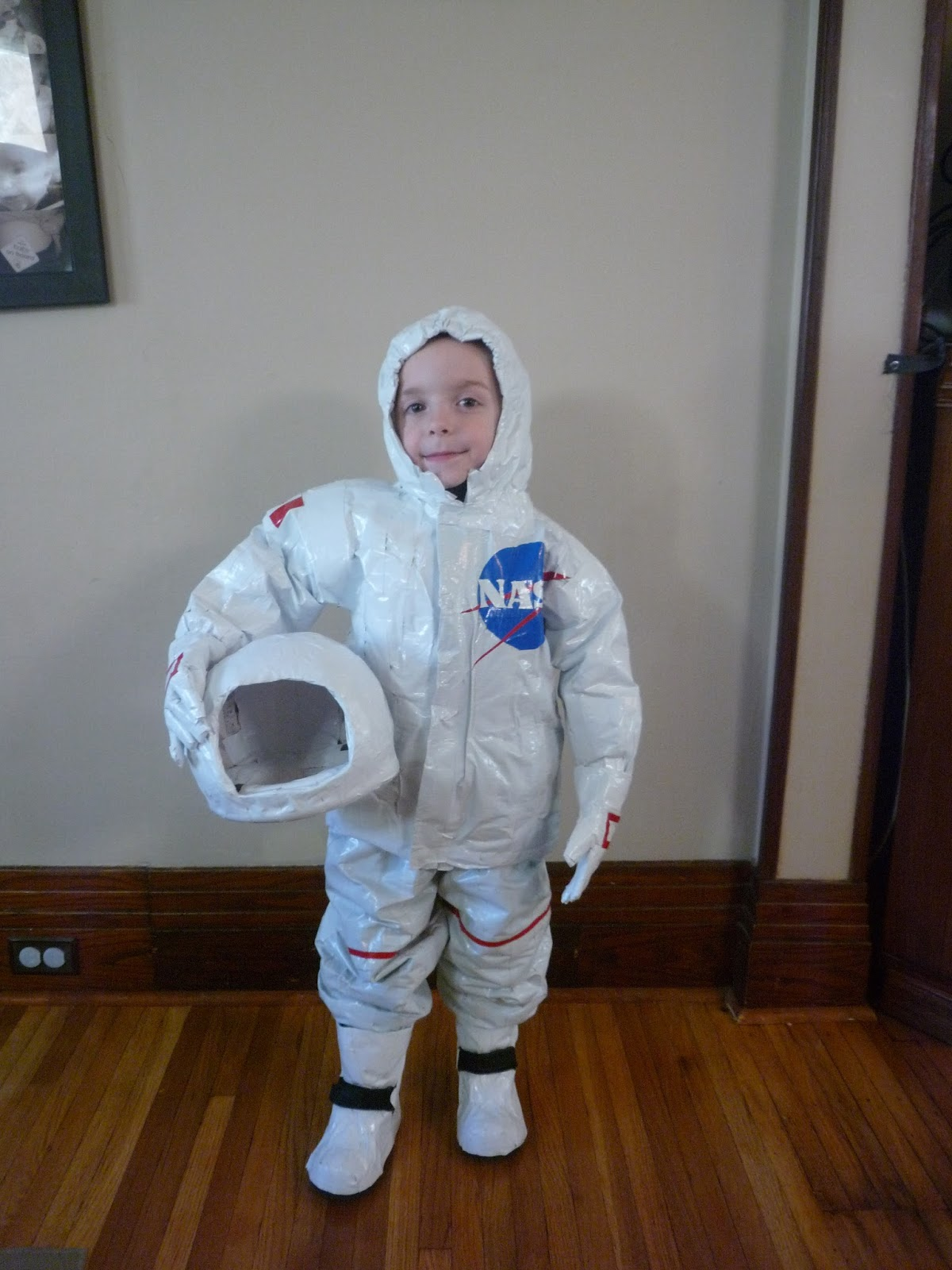 Full Time Frugal Diy Childs Costume 13 Astronaut