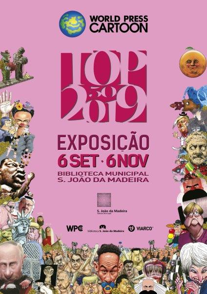 EXPOSIÇÃO WORLD PRESS CARTOON 2019
