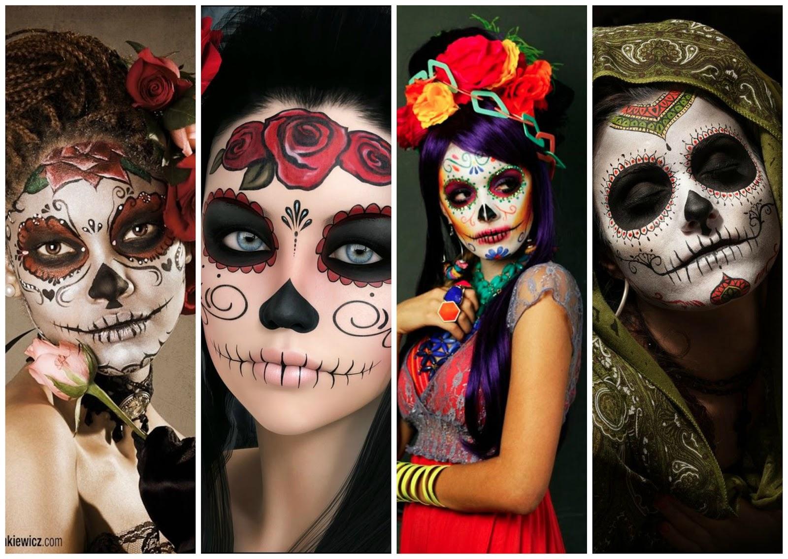7 impresionantes fotos de las hermosas \u0026quot; Catrinas \u0026quot; mexicanas y un vídeo tutorial