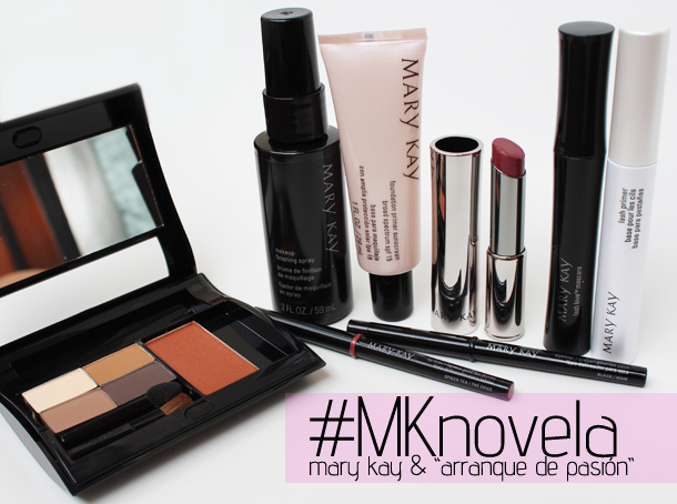 mary kay arranque de pasion ela makeup look