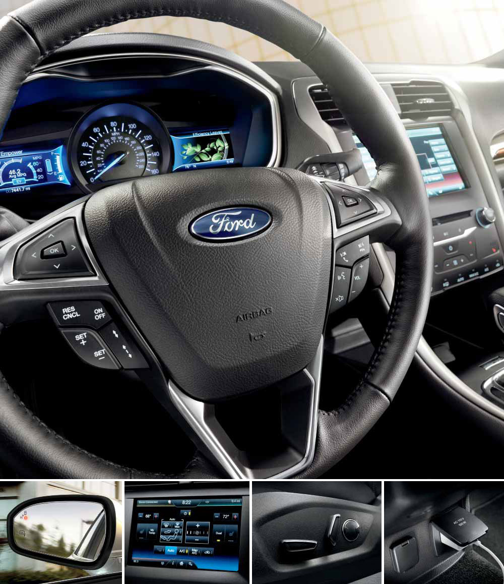 2013 Ford Fusion Hybrid Se With Se Appearance Package Charcoal Black Male Models Picture