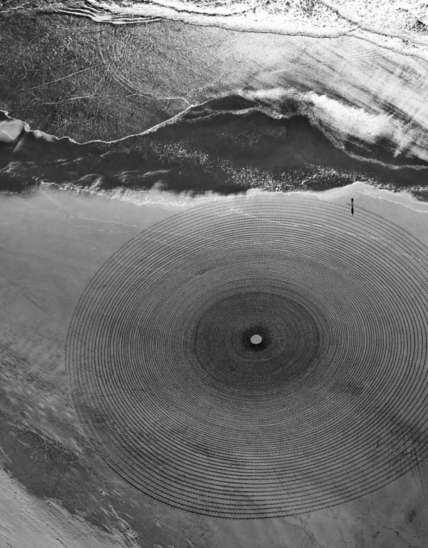 Jim Denevan. Sand. Geometría perecedera.