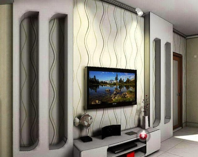 Feature wall paint ideas for living room for Designs of living room walls