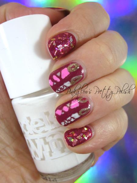 pinkglow's pretty polish uk nail