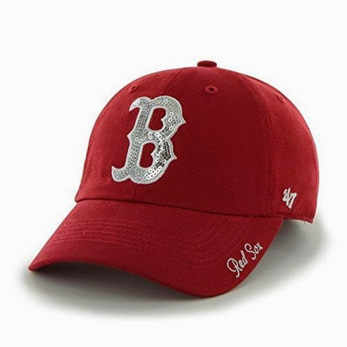 Boston Red Sox MLB Sparkle Hat