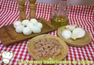 ensalada de atún huevo y cebolla
