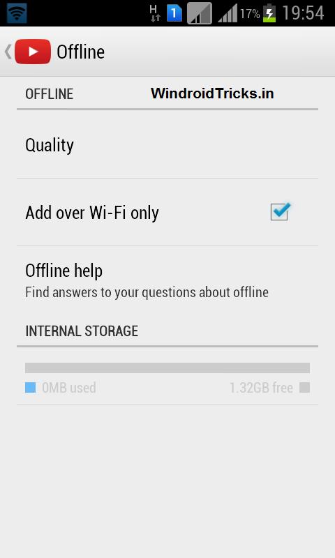 change download method
