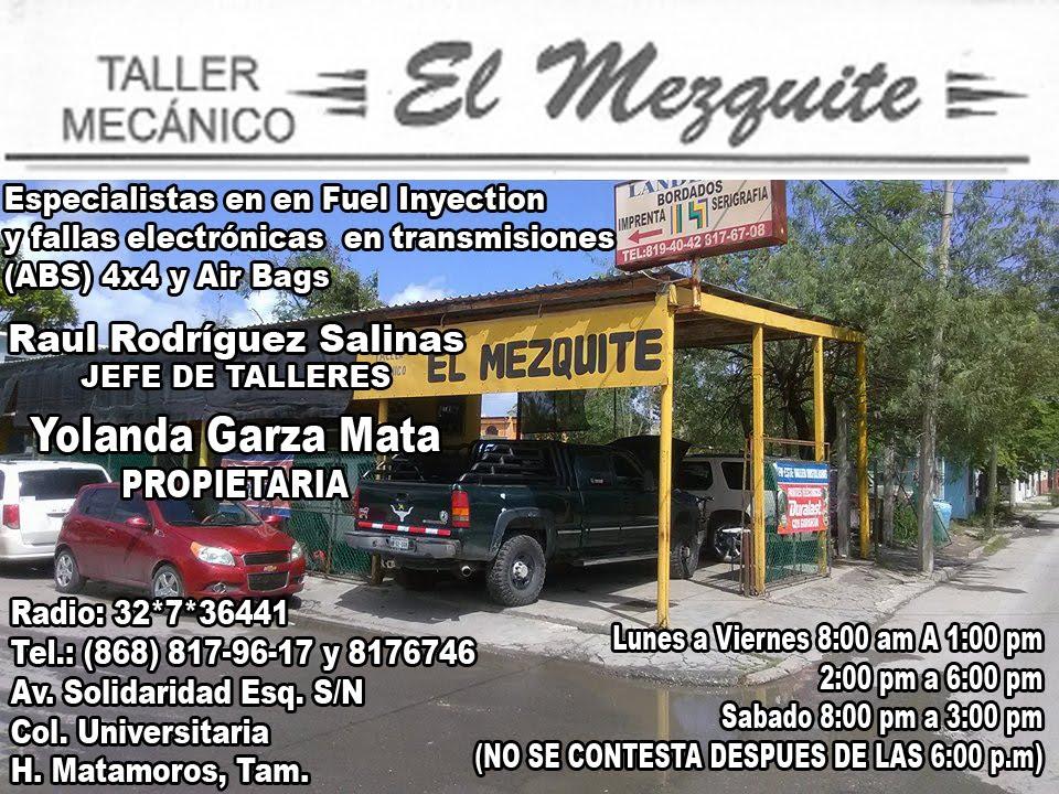 TALLER MECANICO EL MEZQUITE