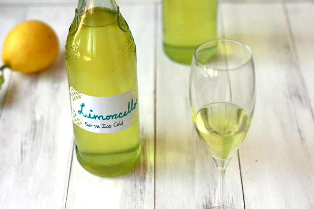 Homemade Limoncello {Link Party} | Yummy Mummy Kitchen | A Vibrant ...