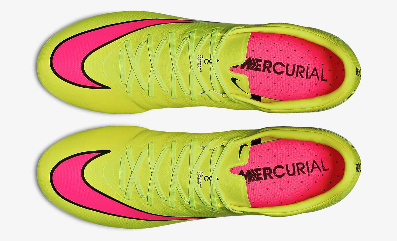 Boot design by nike - The Lightweight Teijin Upper Of The New Nike Mercurial Vapor 10 Boot Is Volt While The Nike Swoosh Is Pink With A Black Border Creating A Bold Design