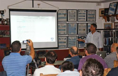 Germán Fernández dictó una clínica UAR en Tucumán