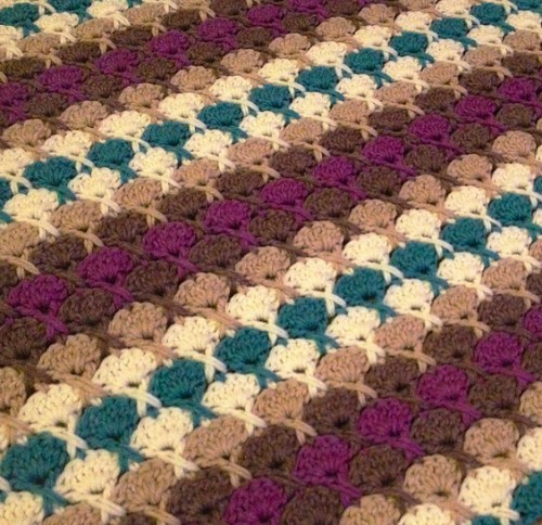 Juicy Fruit Afghan - Free Pattern