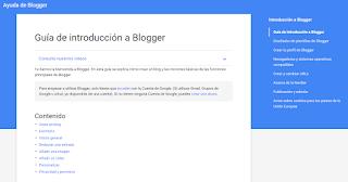 Guía de introducción a Blogger