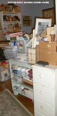 organizing clutter, craft room reveal, craft supplies