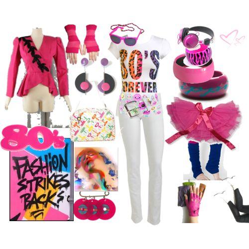 80s Fashion Fashion Design