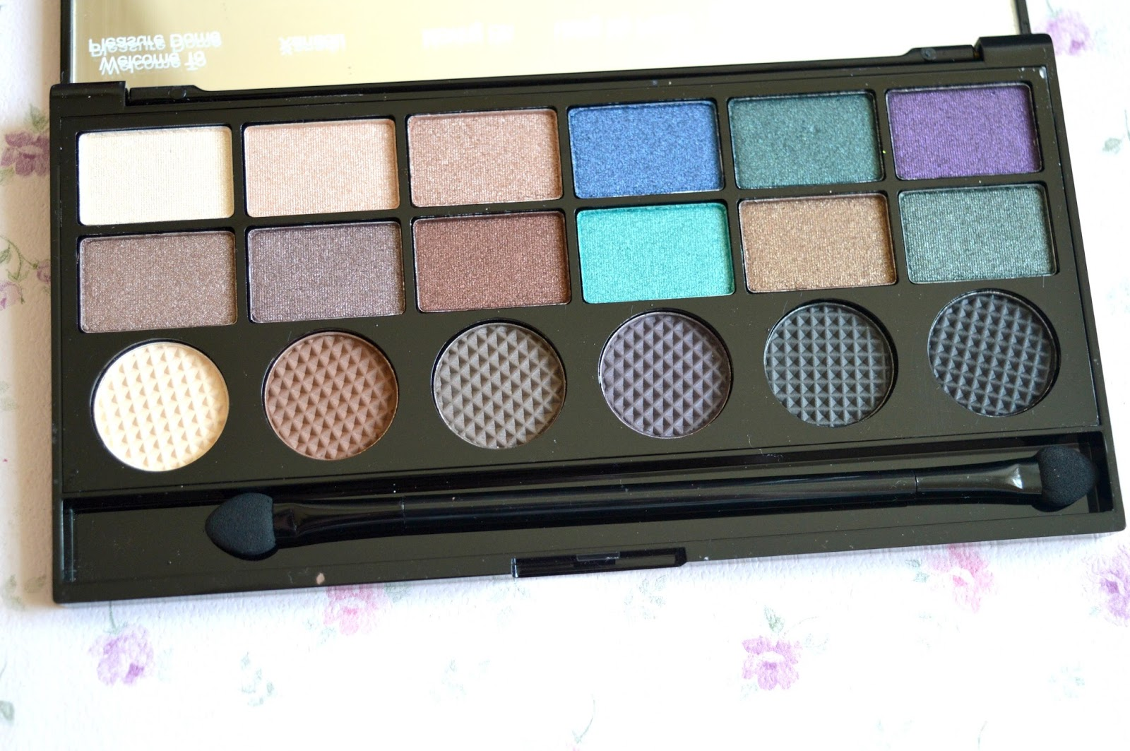 Review   Makeup Revolution Salvation Eyeshadow Palette in Welcome To The Pleasuredome