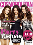 Kim, Kourtney & Khloe Kardashian cover Cosmopolitan UK