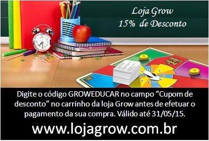 Desconto LOJA GROW