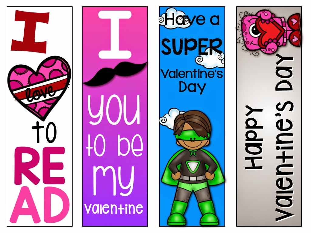 valentine bookmarks to color : Bookmarks To Color And Print I Made A Black And White Version And Color Version