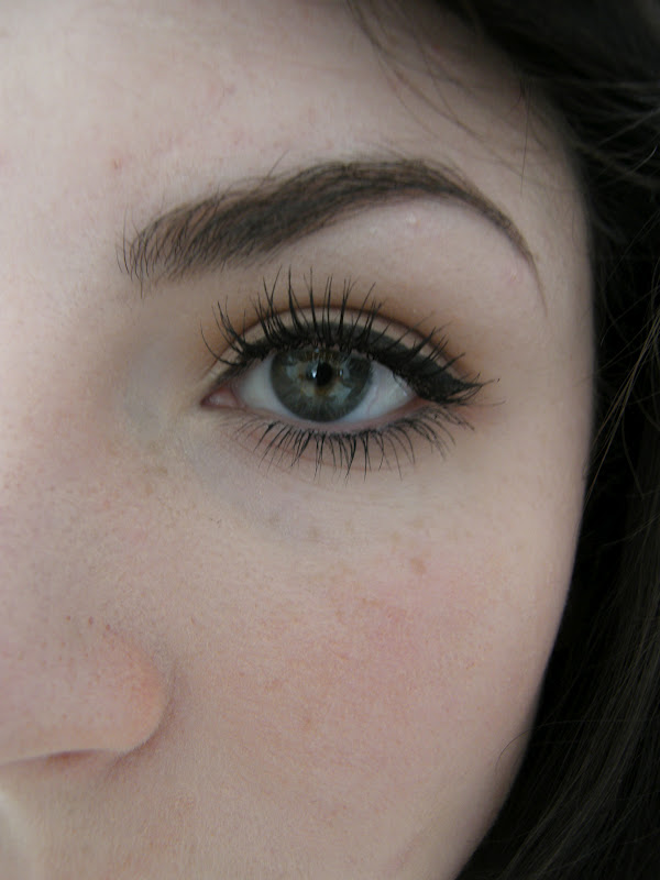 Here Is With The Essence Mascara.