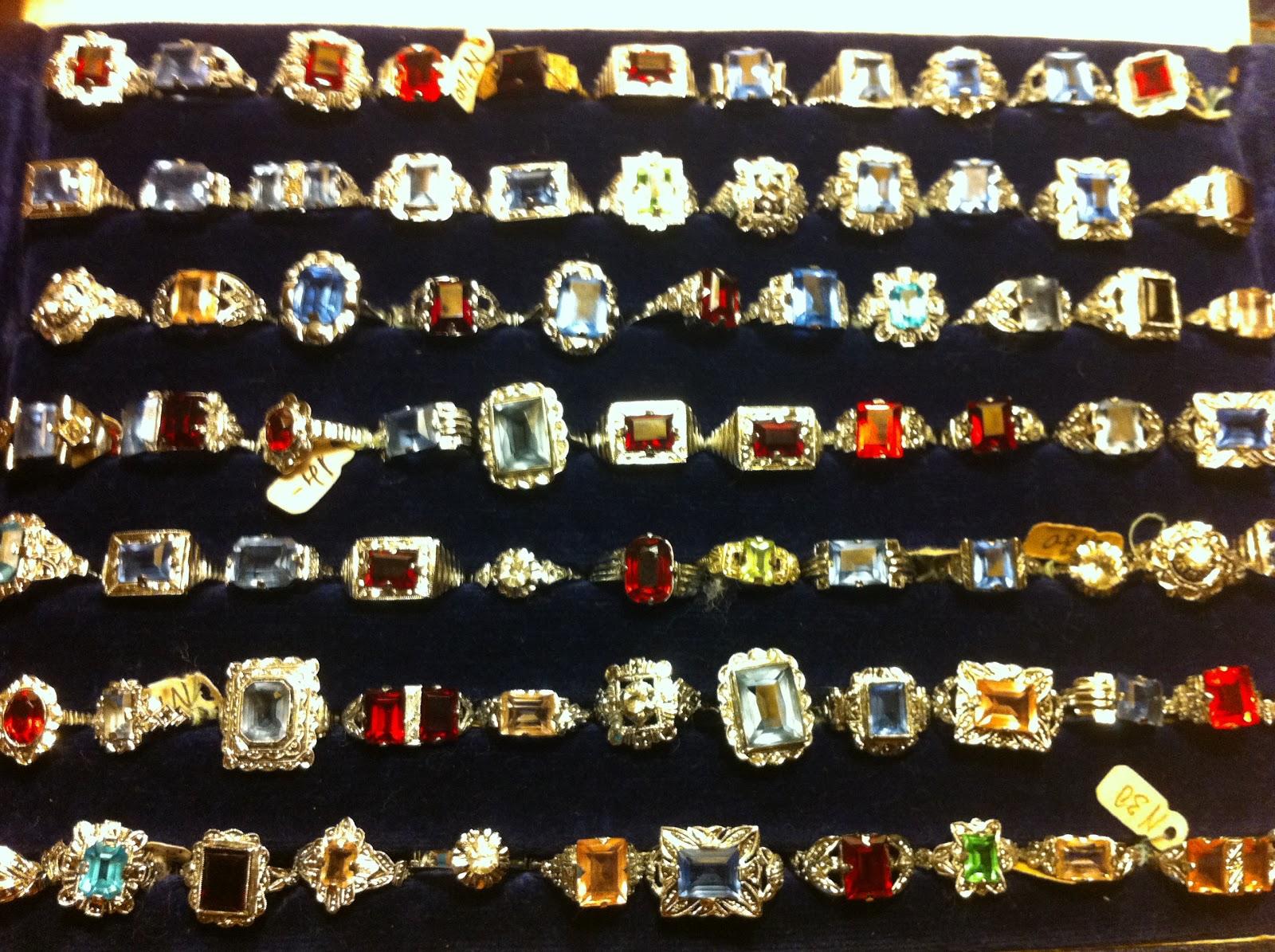 anillos pandora antiguos