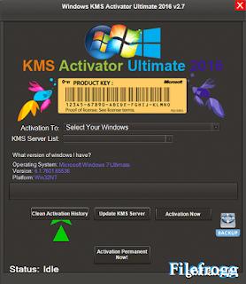 Windows KMS Activator Ultimate v2.7 Terbaru 2016