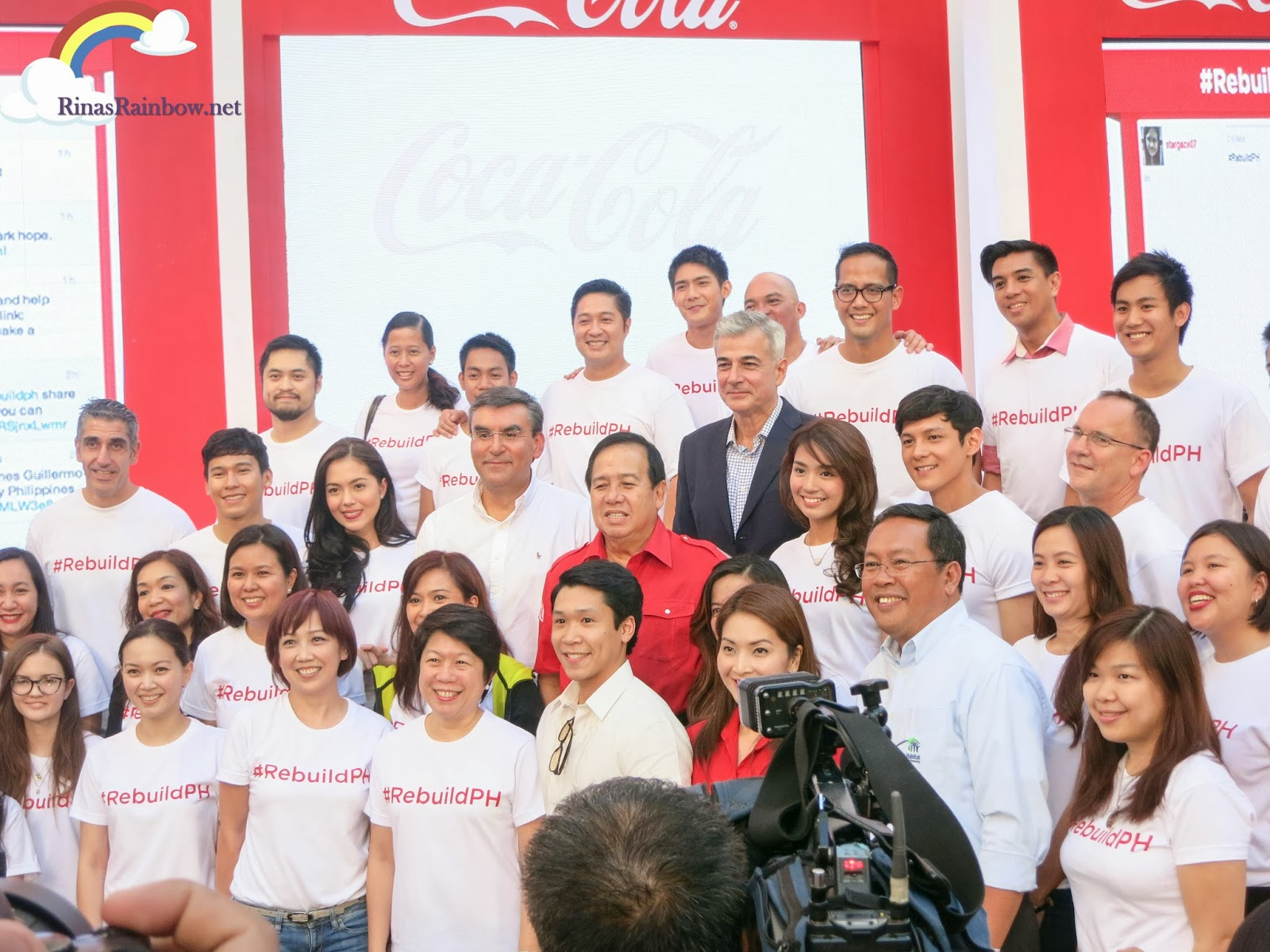 coca cola rebuildPH araneta