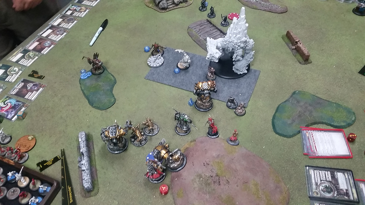 Khador vs. Trollbloods