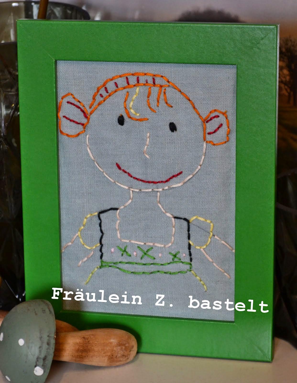 Fräulein Z. bastelt