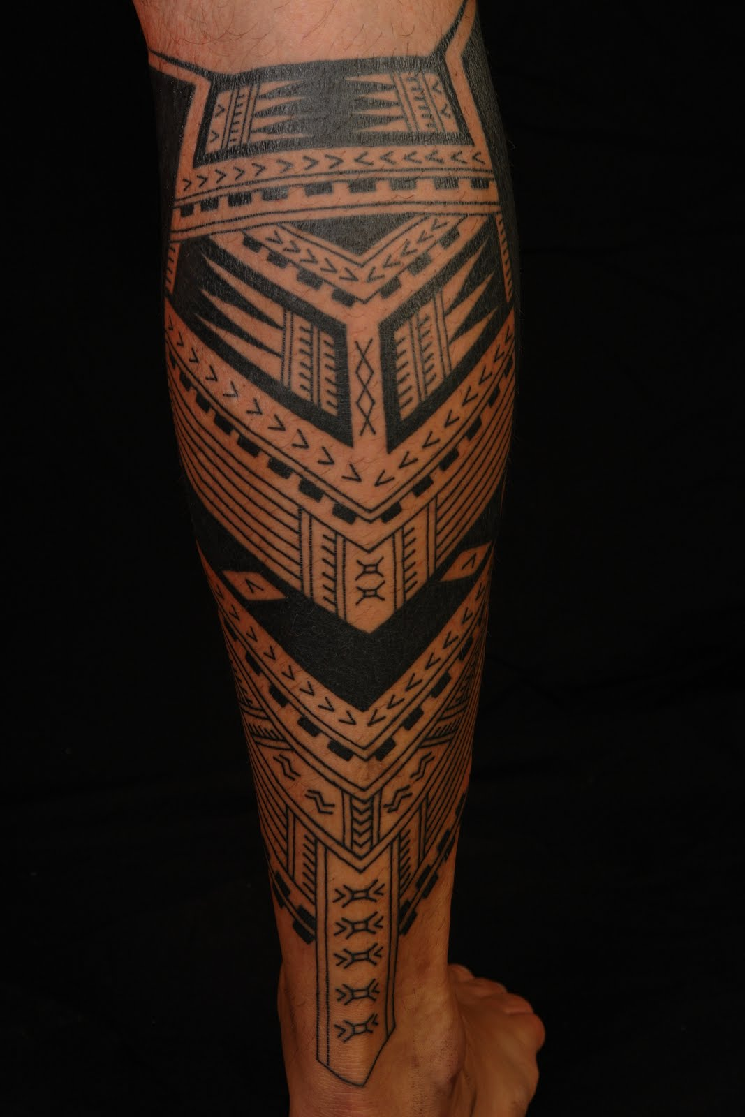 tattoo hawaiian books tribal Samoan Calf Tattoo POLYNESIAN Polynesian MAORI TATTOO: