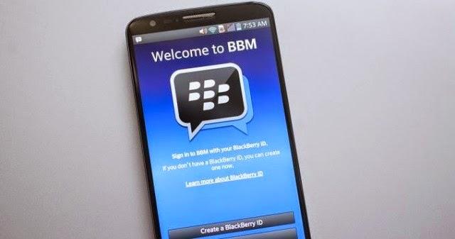 Cara Mudah Upgrade BBM Android Versi Terbaru Tahun 2015