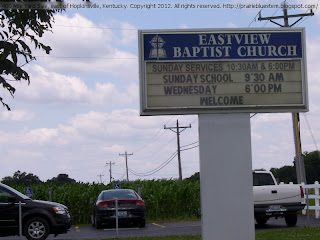 Eastview Baptist Church, 400 Mile Yard Sale