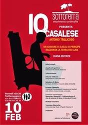 PRESENTAZIONE IO CASALESE ORGANIZZATA DA SOTTOTERRA - FRATTAMAGGIORE (NA)