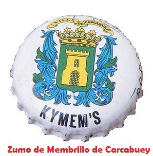 Zumo de membrillo hecho en Carcabuey,  patentado en 1969. Hace años dejó de fabricarse.