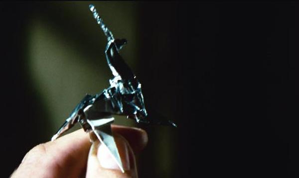 Paper Unicorn em Blade Runner 1982.