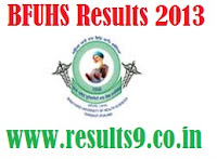 BFUHS BDS 3rd Year Results 2013