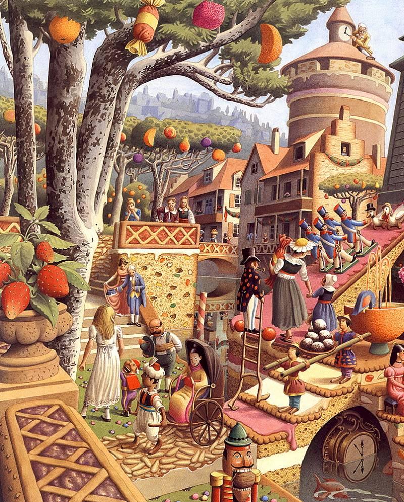 Сказочные Иллюстрации: Roberto Innocenti - Щелкунчик