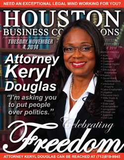 ATTORNEY KERYL L. DOUGLAS IS ENCOURAGING YOU TO GO VOTE